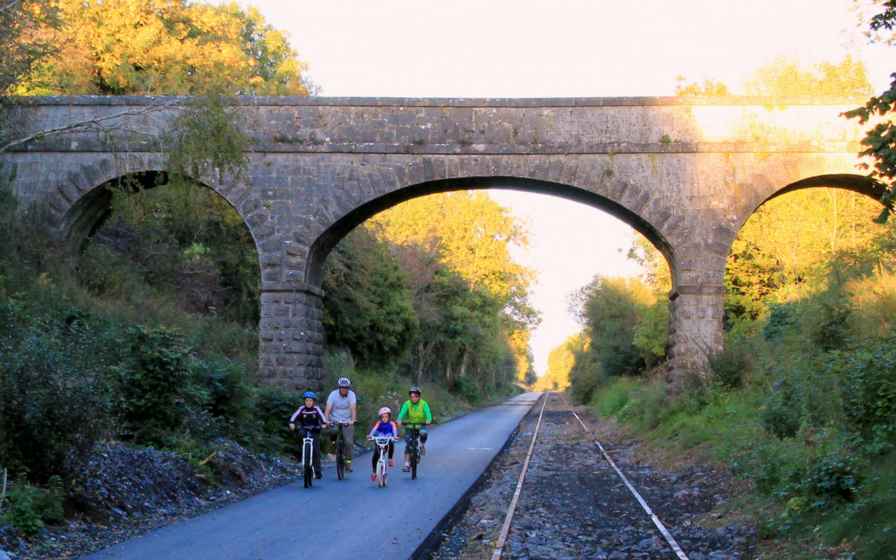 Old Rail Trail Greenway Athlone - Athlone.ie Homepage Image Block