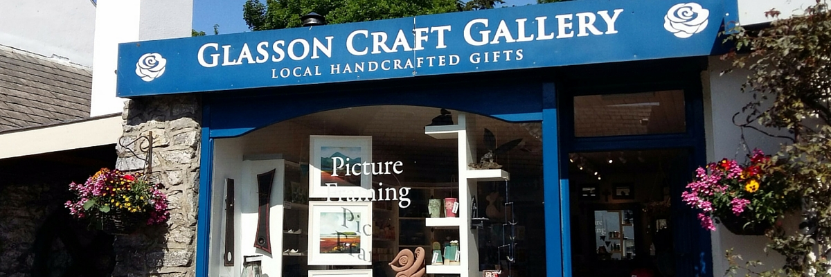 Glasson Craft Gallery 1200 x 400