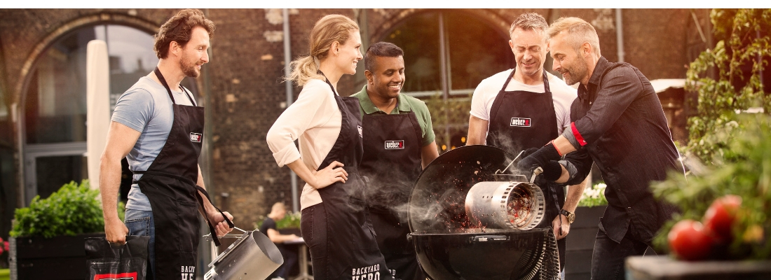 Weber BBQ Course at Fernhill - athlone.ie
